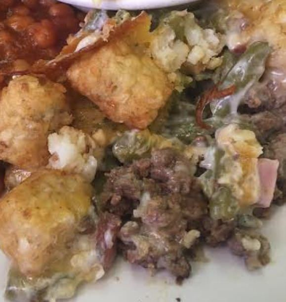 Amish Tater Tot Casserole