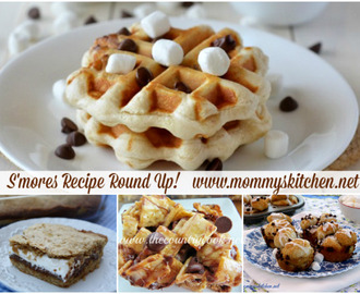 S'mores Recipe Round Up for National S'mores Day!
