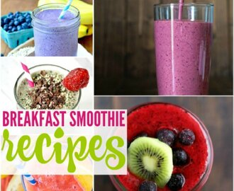 Breakfast Smoothie Recipes for Busy Mornings