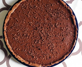 Chocolate Custard Tart and our Easter wrap-up