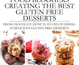 Food Bloggers Creating the Best Gluten Free Desserts