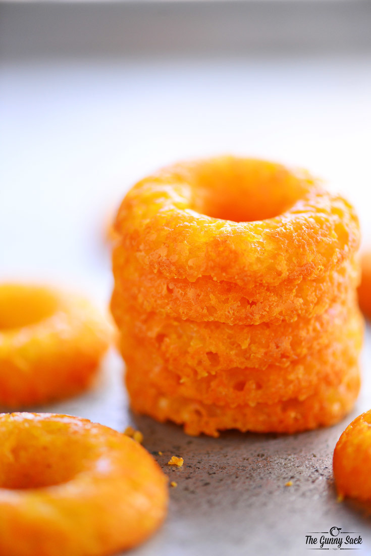 Crispy Cheese Donuts