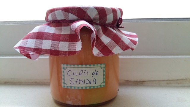 Curd de limón y Curd de sandía      //     Lemon curd and Watermelon Curd