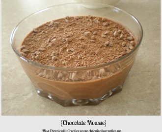 Crafty Fridays: Chocolate Mousse