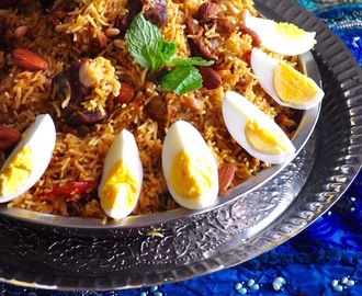 Mutton Kabsa | Arabian Rice with Mutton/Lamb