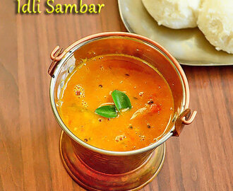 Hotel Style Idli Sambar Recipe – How To Make Tiffin Sambar – Easy Version