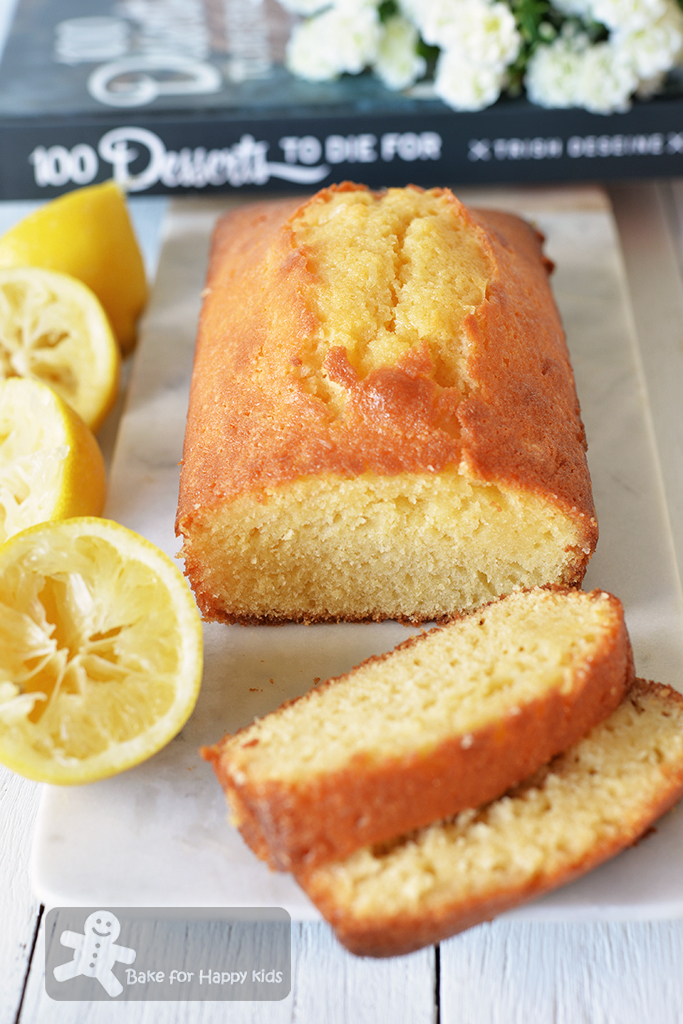 Lemon Cake with Cognac - Simply Divine!!!