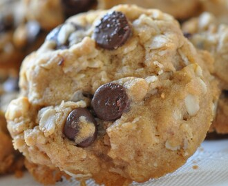 Chocolate Chip Oatmeal Cookies Recipes – Easy and Healthier Oatmeal Cookie!