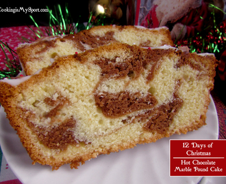 Hot Chocolate Marble Pound Cake