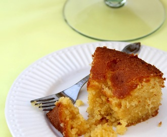 Almond, Polenta and Lemon Cake