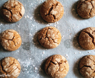 Peanut Butter Crinkle Cookies Here's the truth. I'm...