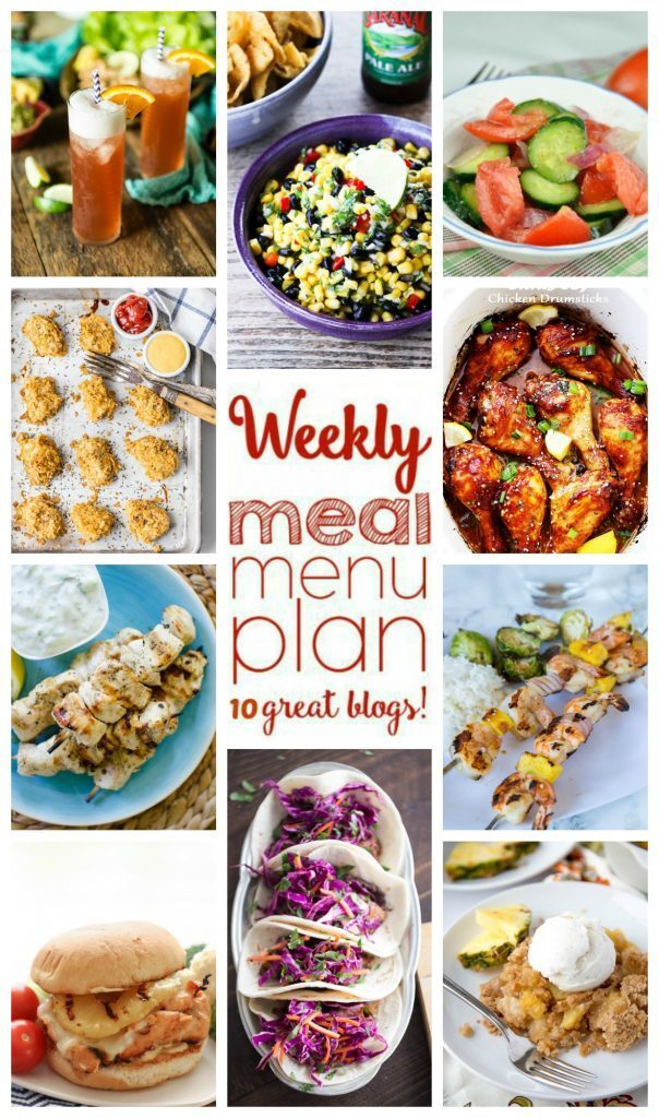 Easy Weekly Meal Plan Week #55