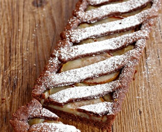 #WEEKEND :: Crostata cioccolato e pere