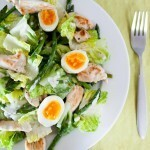 5:2 Chicken, Asparagus and Egg Salad