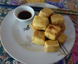 Salt & Pepper Tofu for lunch