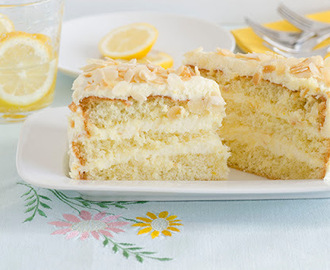 Torta alla fragranza di limone d'Amalfi (Cake with Amalfi's lemon fragrance )