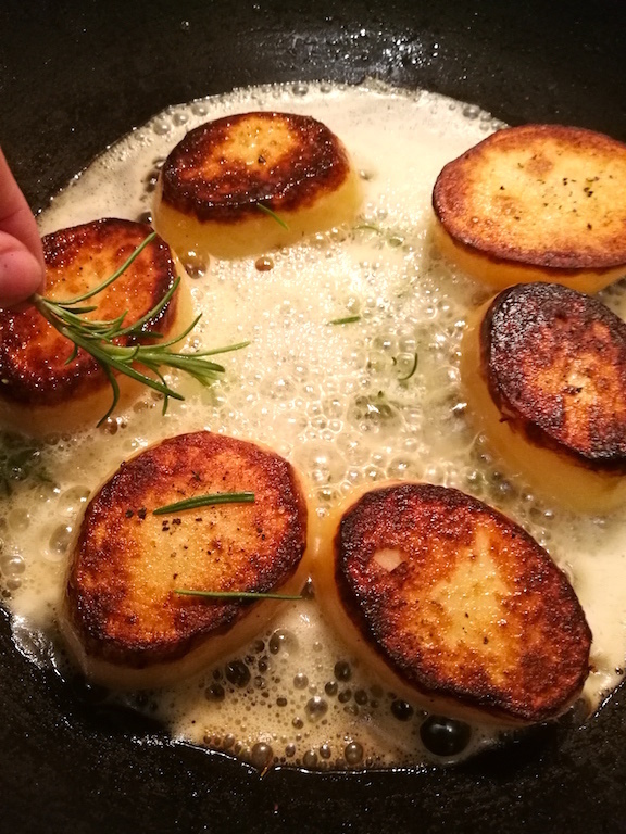 How To Make Fondant Potatoes