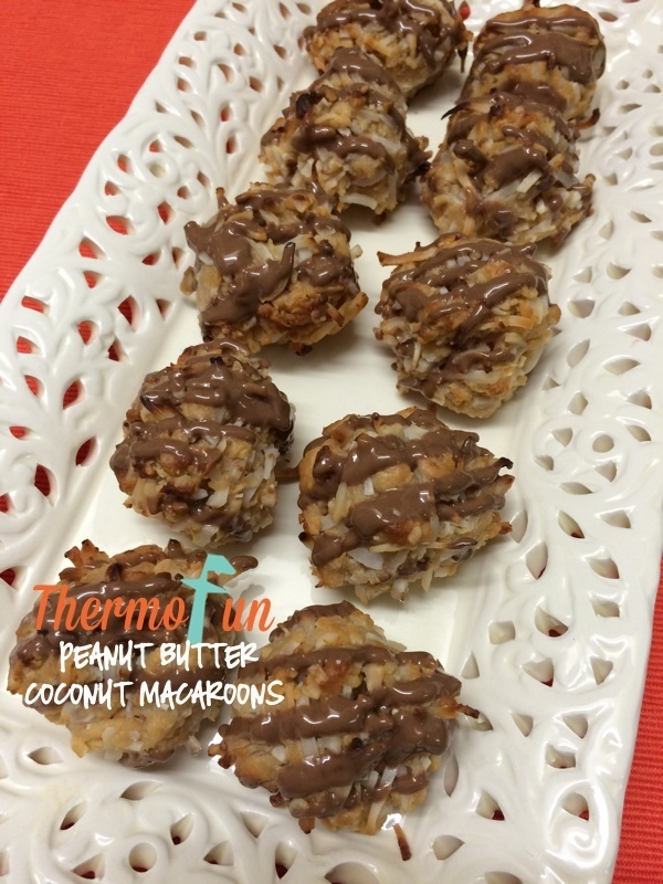 Wicked Wednesday – Peanut Butter Coconut Macaroons Recipe