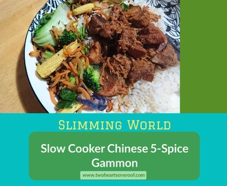 Slimming World Slow Cooker 5 Spice Gammon