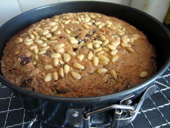 New Recipe! Wholemeal Almond and Chocolate Cake