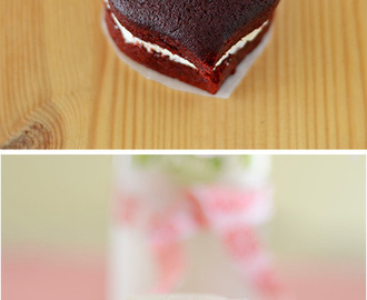 LOVE-ly Mini Red Velvet Cake for Valentine's Day