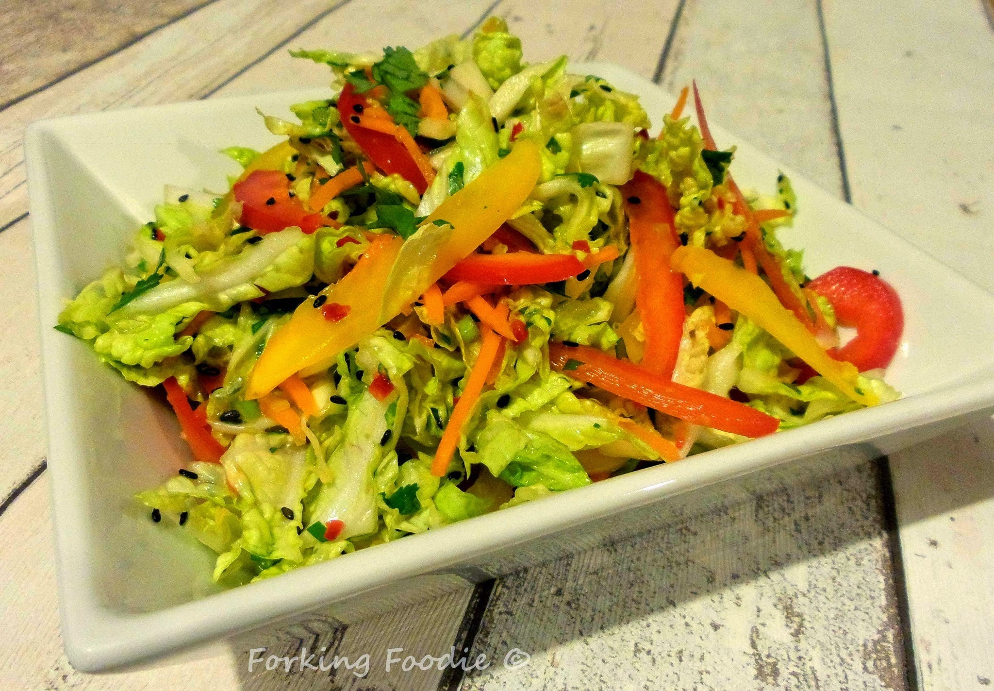 Asian-Style Slaw (includes Thermomix method)