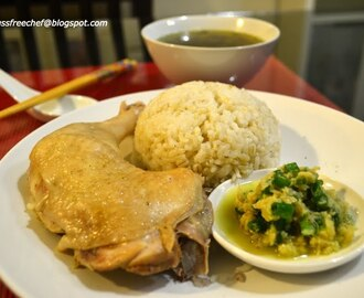 Easy Hainanese Chicken Rice, Rice Cooker recipe