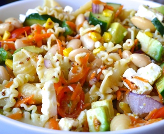 Spring Pasta Salad (perfect for packed lunch)
