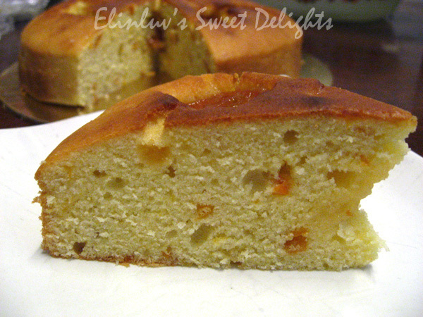 Sour Cream Kumquat Tea Cake