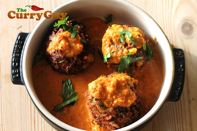 Malai Vegetarian Kofta Curry
