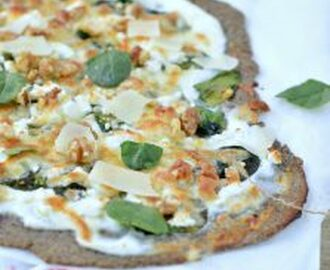 Linseed, Sunflower & Almond Flour Pizza Crust