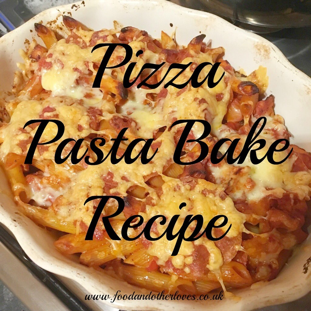 Pizza Pasta Bake Recipe...