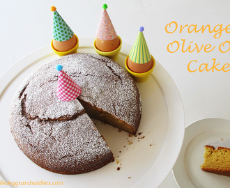 The best Orange Olive Oil Cake – Thermomix & regular recipes