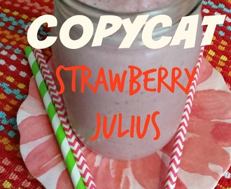 Copycat Strawberry Julius