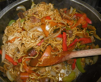Madhouse recipe : One Pot Sweet & Sticky Noodles