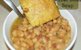 Slow cooker ham & white beans - how to cook guide