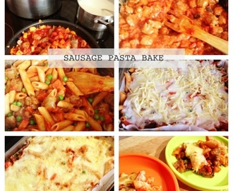 SAUSAGE PASTA BAKE - PERFECT WORK NIGHT MEAL