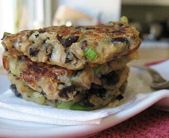Black Bean Potato Cakes Patties 黑豆马铃薯(土豆)煎饼