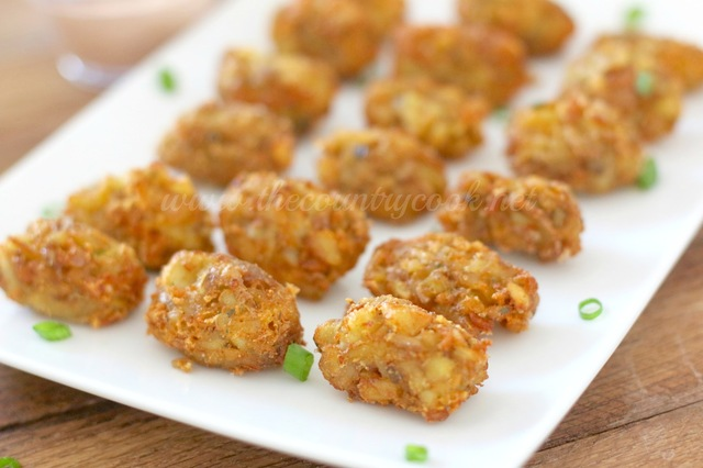 Homemade Tater Tots with Chipotle Mayo