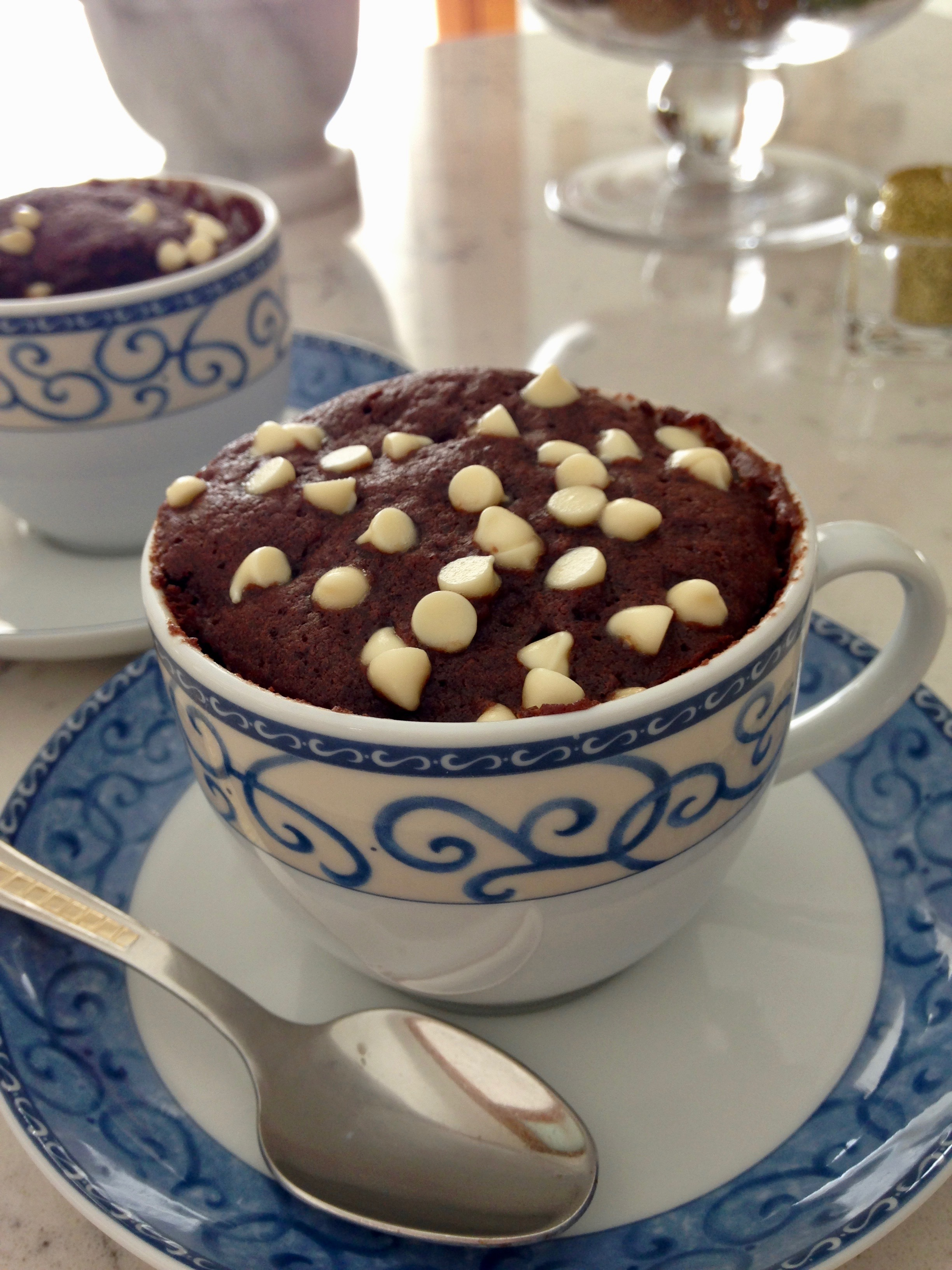 Torta in tazza vegan – Mug cake
