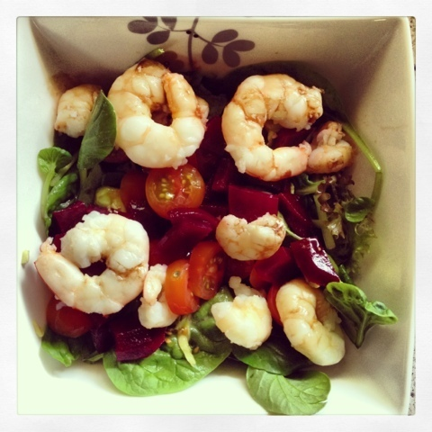 Prawn Salad - two ways