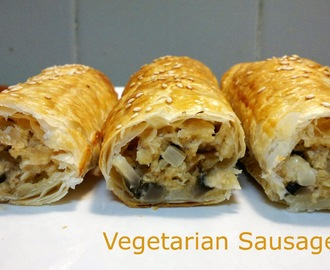 Meatless Monday - Vegetarian Sausage Rolls
