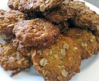 Anzac Biscuits in October