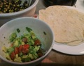 Vegan Dinner Recipe: Black-bean filled tortillas with sweet potato