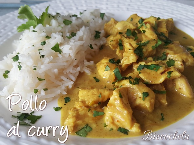 POLLO AL CURRY EN 15 MINUTOS