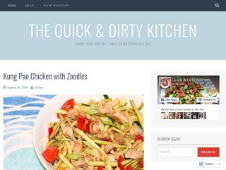 The Quick & Dirty Kitchen