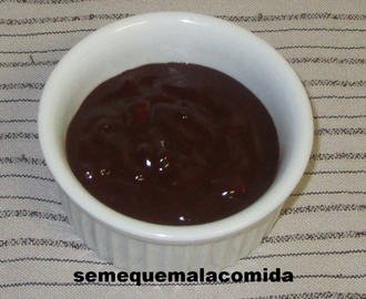 SALSA DE CHOCOLATE SALADA