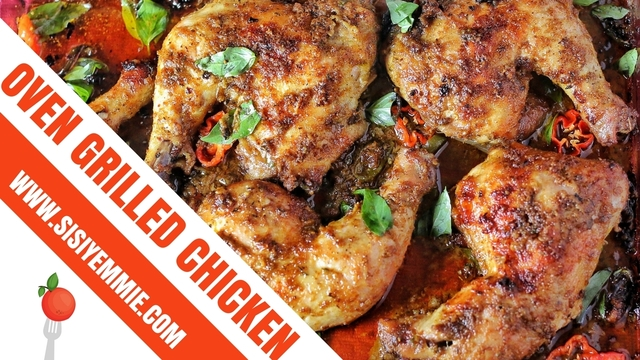 OVEN GRILLED CHICKEN RECIPE