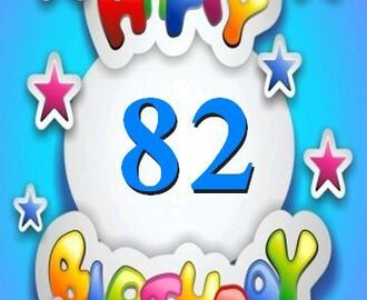 Today is my 82nd Birthday-Thank You, Lord!