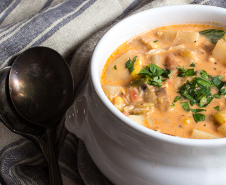 Lobster and Crab Chowder